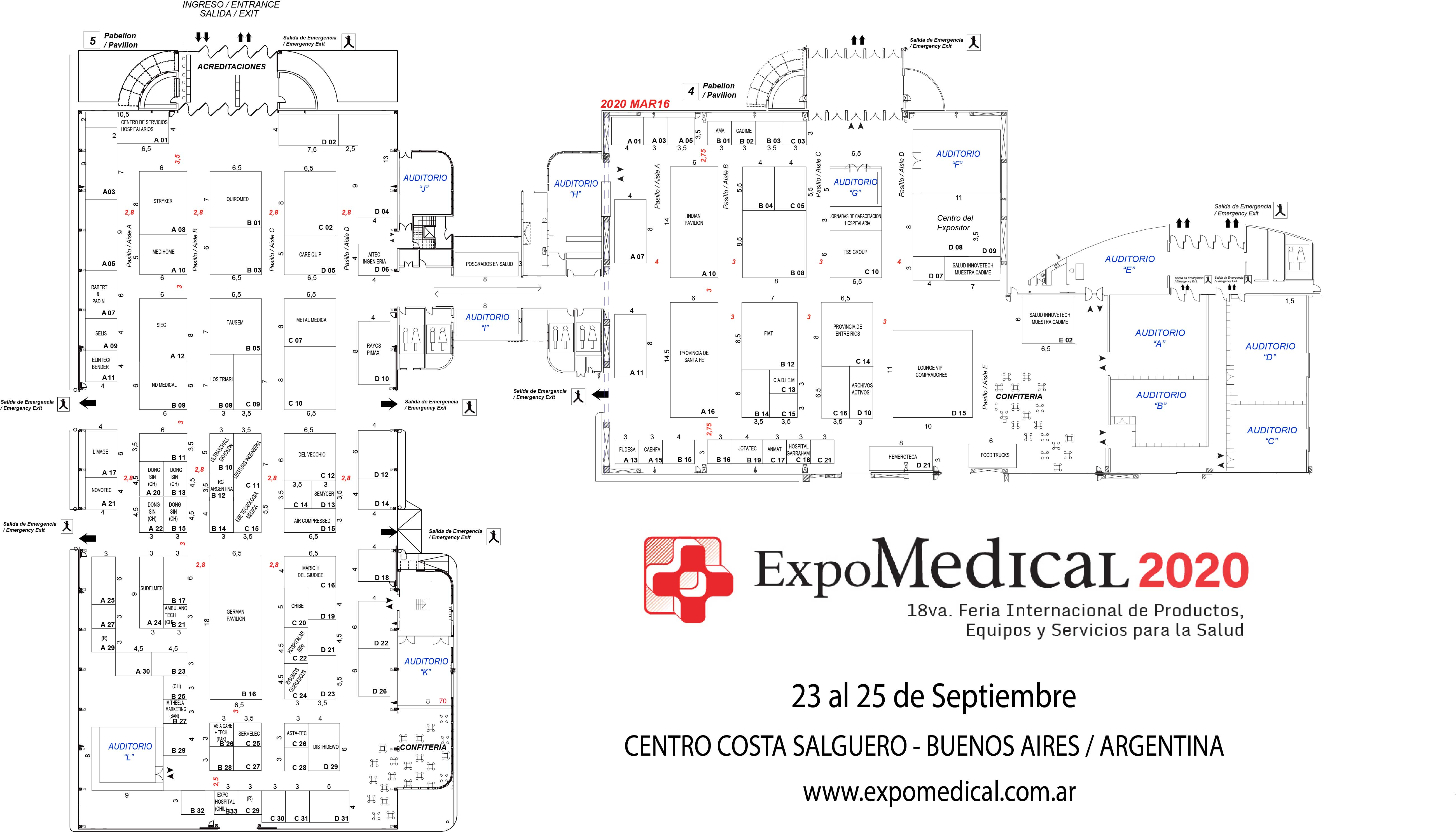 EXPOMEDICAL 2020 MARZ16